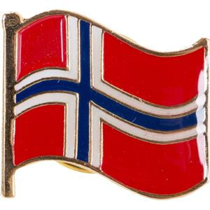 17. mai pin med Norsk flagg